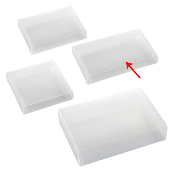 【まとめ買い10個セット品】 半透明ボックス 12×3×20cm 10枚 【ECJ】