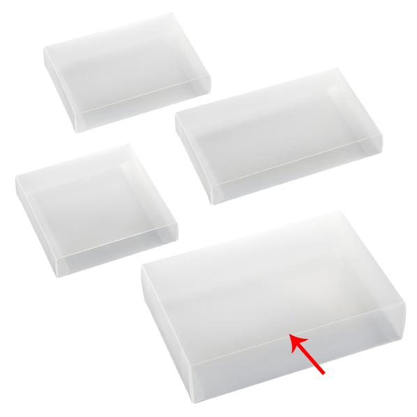 【まとめ買い10個セット品】 半透明ボックス 17×6×25cm 10枚 【ECJ】