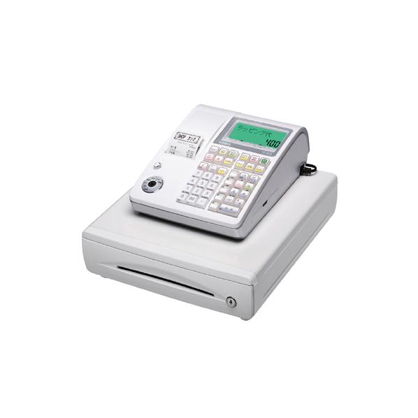 【まとめ買い10個セット品】 カシオレジスター 10部門 TE-400 ホワイト 【ECJ】