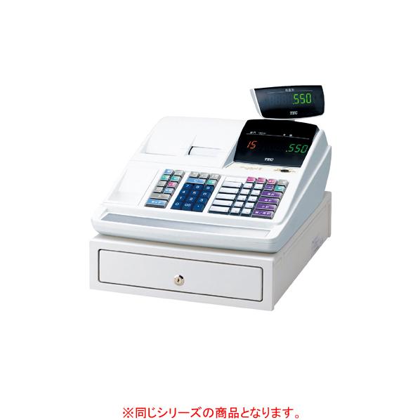【まとめ買い10個セット品】 東芝テック レジスター10部門MA-550 ホワイト 【ECJ】