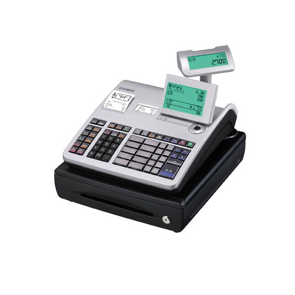 【まとめ買い10個セット品】 カシオレジスター 20部門TE-2700-20S シルバー 【ECJ】