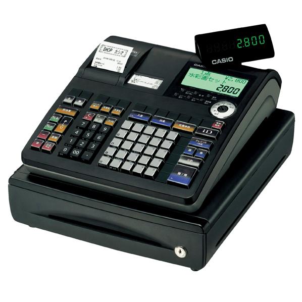 【まとめ買い10個セット品】 カシオ レジスター25部門TE-2800-25S ブラック 【ECJ】