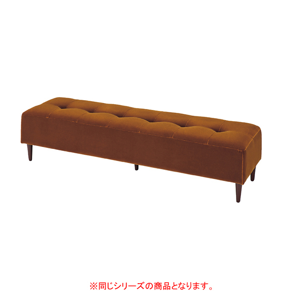 バギーベンチ W170cm モケット パープルピンク 【ECJ】