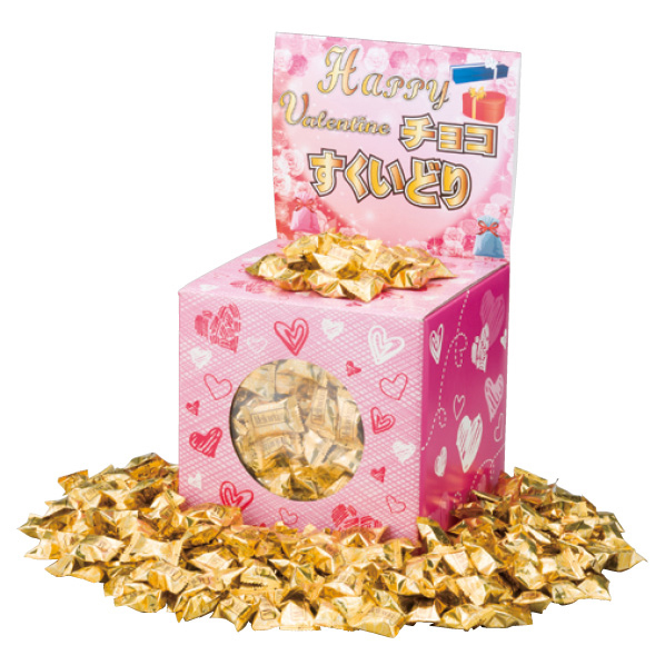 【まとめ買い10個セット品】 バレンタインチョコすくいどり(約100人用) 【バレンタインデー グッズ 飾り イベント 装飾】 【ECJ】