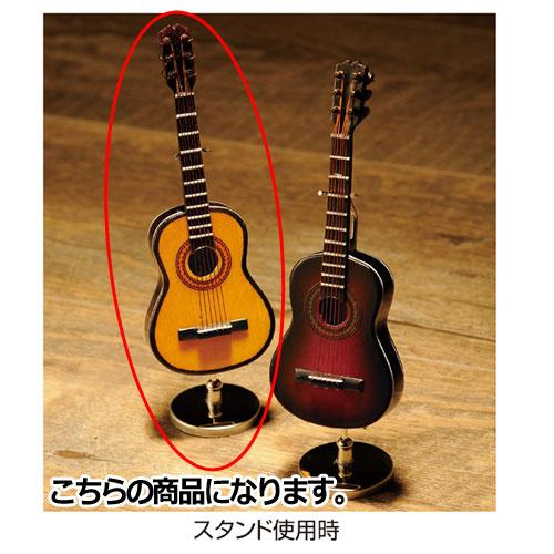 【まとめ買い10個セット品】 ミニチュアバンドオブジェ ギター ナチュラル【販促用品 ディスプレー 店舗備品】【ECJ】