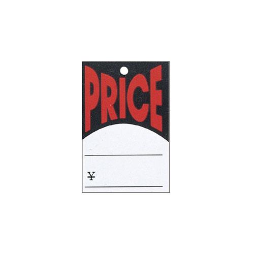 【まとめ買い10個セット品】 さげ札(糸付き) PRICE 500枚【販促用品 ポスター POP タグ 店舗備品】【ECJ】