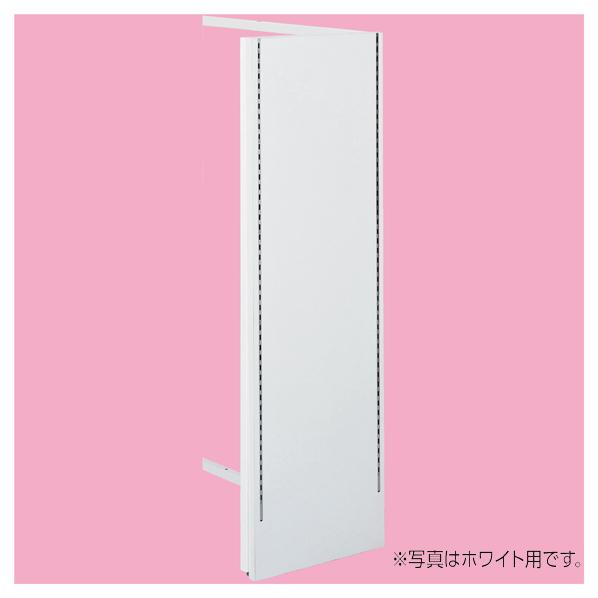 【まとめ買い10個セット品】 UR中央片面ブラック木製サイドパネルS付き ホワイト (芯々388/Z型金具×4+4付き) 【ECJ】