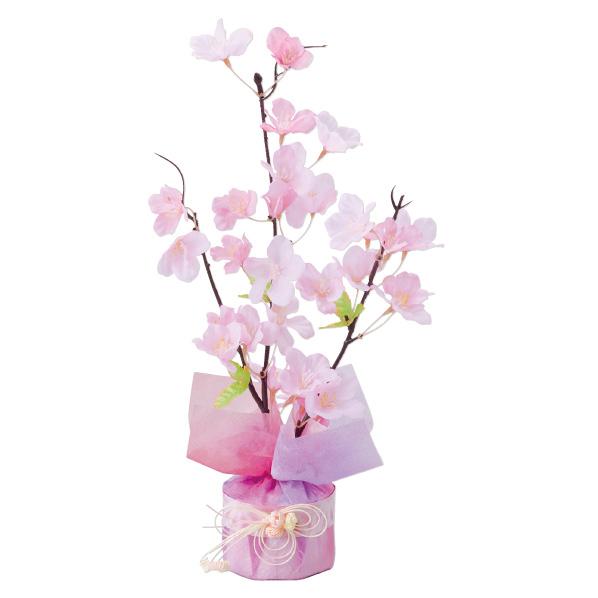 【まとめ買い10個セット品】 桜和紙ポット2個 【桜 サクラ さくら 春 飾り イベント 装飾】 【ECJ】