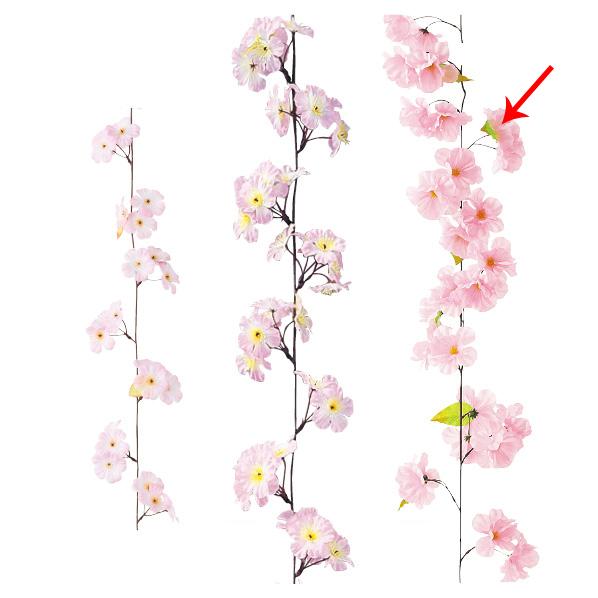 【まとめ買い10個セット品】 ガーランド ラージチェリー2本 【桜 サクラ さくら 春 飾り イベント 装飾】 【ECJ】