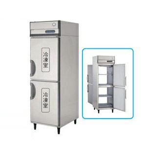 【業務用】福島工業 フクシマ パススルー冷凍庫 幅610mm 奥行840mm タイプ PRD-062FM7