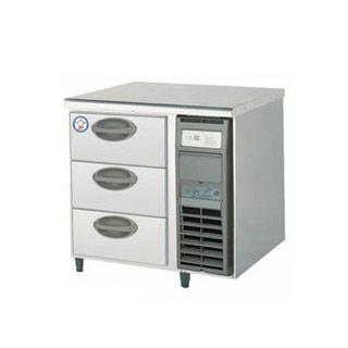 【業務用】福島工業 フクシマ 3段ドロワーテーブル冷蔵庫 幅755mm 奥行600mmタイプ YDC-083FM2-R