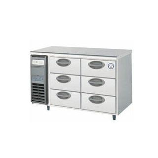 【業務用】福島工業 フクシマ 3段ドロワーテーブル冷蔵庫 幅1200mm 奥行600mmタイプ YDC-120RM2