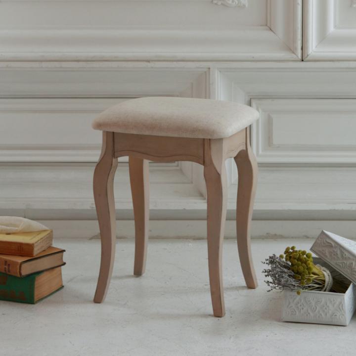 スツール チェア 椅子 いす 1人掛け アンティーク 猫脚 エレガント 姫系 姫 輸入家具 ロココ調 木製 アンティーク調 フレンチ シャビー レトロ クラシック カントリー 送料無料 通販