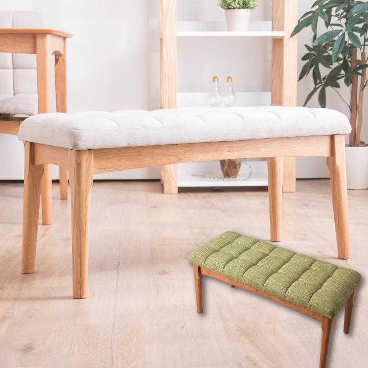 チェア ベンチチェア ベンチ チェアー イス 椅子 いす ダイニングチェア リビングチェア デスクチェア 木製チェアー ファブリック 布地 回転 ダイニング 食事 食卓 天然木 木製 ナチュラル グリーン 北欧 モダン 可愛い シンプル 送料無料 通販