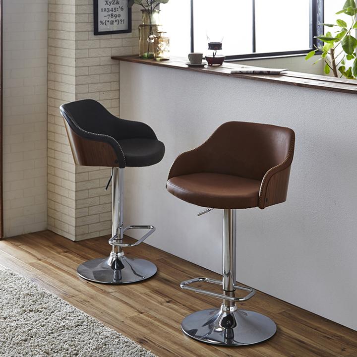 ダイニングチェア チェア イス いす 椅子 バーカウンター リビングチェア 食卓チェア 合皮チェア カフェチェア ソファ カウンター ダイニング リビング 木製 北欧 モダン シンプル お洒落 合皮 PU 送料無料 通販
