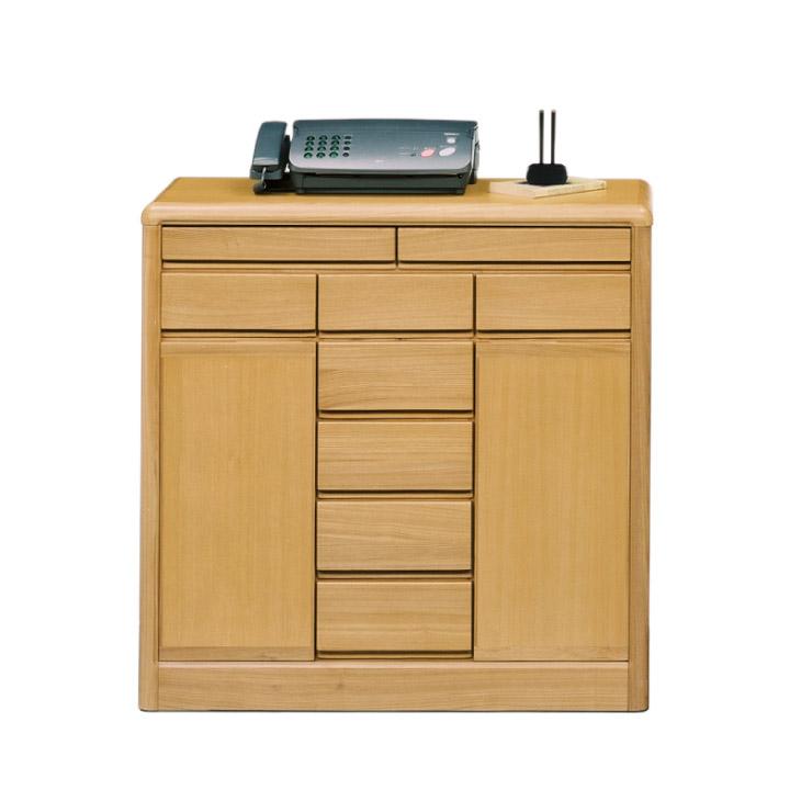 キャビネット サイドボード リビング収納 幅90 タモ材 柾 背面化粧仕上げ 木製 北欧 モダン 省スペース 人気 箱組 アリ組 おしゃれ