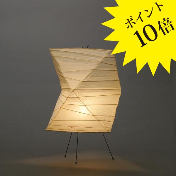 26NIsamuNoguchi(イサムノグチ)「AKARI あかり」スタンドライト 和紙[テーブル・フロアスタンドライト/和風照明] 【75019】