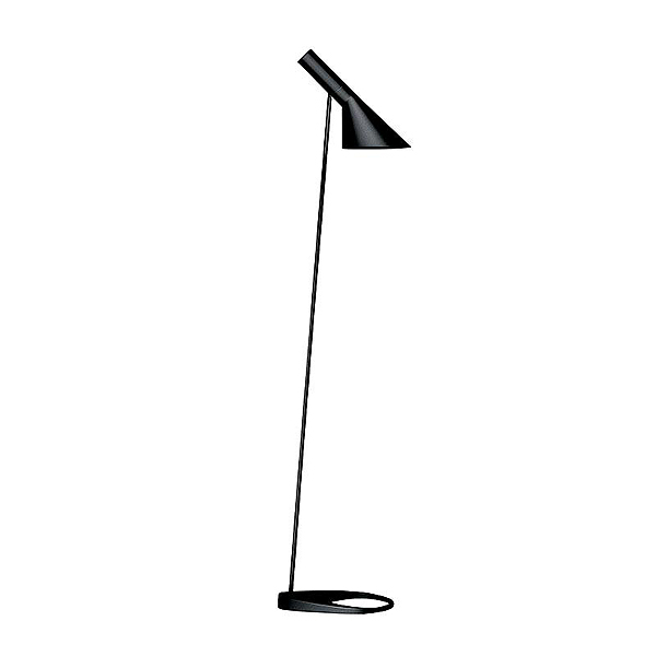 「AJ Floor」ブラック(黒)LouisPoulsen(ルイスポールセン) フロアランプ●デンマークを代表する建築家アルネ・ヤコブセンデザイン[フロアスタンド/北欧照明/デザイナーズ/輸入]【AJ Floor 黒】