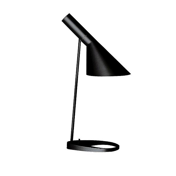 「AJ Table」ブラック(黒)LouisPoulsen(ルイスポールセン) テーブルランプ●デンマークを代表する建築家アルネ・ヤコブセンデザイン[テーブルスタンド/北欧照明/デザイナーズ/輸入]【AJ Table Black】