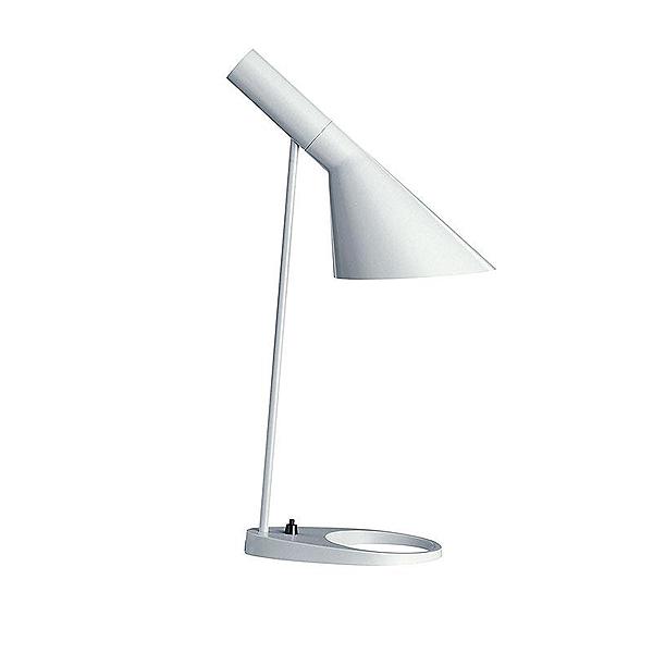 「AJ Table」ホワイト(白)LouisPoulsen(ルイスポールセン) テーブルランプ●デンマークを代表する建築家アルネ・ヤコブセンデザイン[テーブルスタンド/北欧照明/デザイナーズ/輸入]【AJ Table White】
