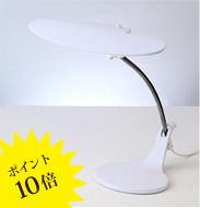 Slimac(スワン電器)「DS-500WH」ホワイト[LEDデスクスタンド/タスクライト]【DS-500WH】
