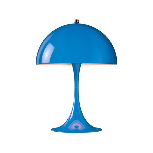 「Panthella(パンテラ)」ミニテーブル ブルー(青)LouisPoulsen(ルイスポールセン) テーブルランプ[テーブルスタンド/北欧照明/デザイナーズ/輸入]【送料無料】【Panthella Mini Blue】