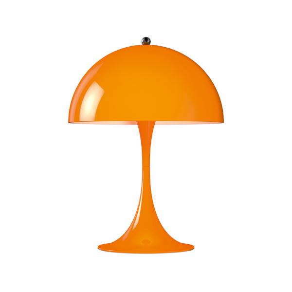 「Panthella(パンテラ)」ミニテーブル オレンジLouisPoulsen(ルイスポールセン) テーブルランプ[テーブルスタンド/北欧照明/デザイナーズ/輸入]【送料無料】【Panthella Mini Orange】
