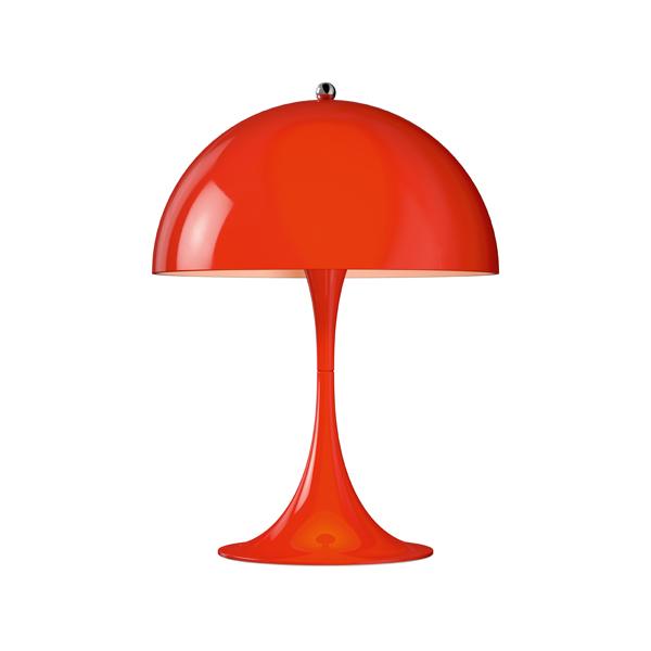 「Panthella(パンテラ)」ミニテーブル レッドLouisPoulsen(ルイスポールセン) テーブルランプ[テーブルスタンド/北欧照明/デザイナーズ/輸入]【送料無料】【Panthella Mini Red】
