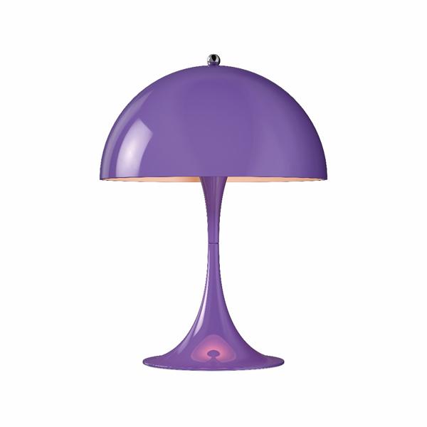 「Panthella(パンテラ)」ミニテーブル ヴァイオレットLouisPoulsen(ルイスポールセン) テーブルランプ[テーブルスタンド/北欧照明/デザイナーズ/輸入]【送料無料】【Panthella Mini Violet】