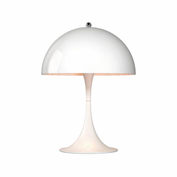 「Panthella(パンテラ)」ミニテーブル ホワイト(白)LouisPoulsen(ルイスポールセン) テーブルランプ[テーブルスタンド/北欧照明/デザイナーズ/輸入]【送料無料】【Panthella Mini White】