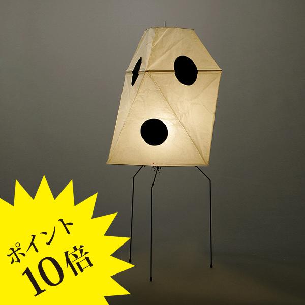 UF3-QIsamuNoguchi(イサムノグチ)「AKARI あかり」スタンドライト 和紙[テーブル・フロアスタンドライト/和風照明] 【75214】
