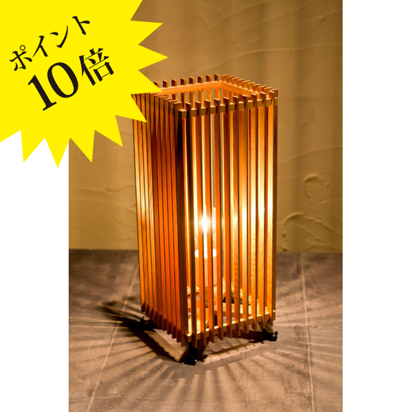 A515-O 「簾 ren」 Lサイズ ON-OFFタイプ 新洋電気 Lampada[テーブル・フロアスタンドライト/和風照明]