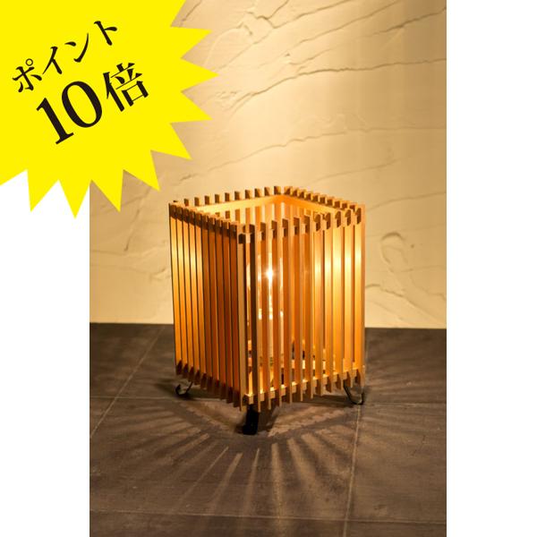 A516-T 「簾 ren」 Sサイズ 中間調光タイプ 新洋電気 Lampada[テーブル・フロアスタンドライト/和風照明]