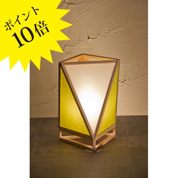 A527-F 「彩 sai」 白×萌葱(もえぎ) 新洋電気 Lampada[テーブル・フロアスタンドライト/和風照明]