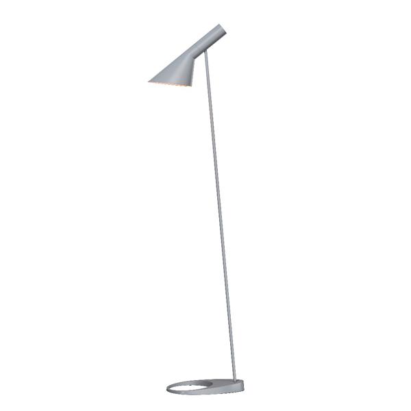 「AJ Floor」ライト・グレーLouisPoulsen(ルイスポールセン) フロアランプ●デンマークを代表する建築家アルネ・ヤコブセンデザイン[フロアスタンド/北欧照明/デザイナーズ/輸入]【AJ Floor Light Gray】