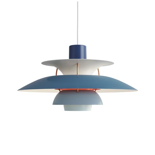 PH5 ブルー・グラデーション (LED電球付) (青))Louis Poulsen ルイスポールセンプレゼント付(白熱電球150W/簡単調節コードリール)【正規品】