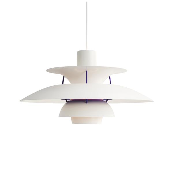 ≪当店在庫あり≫PH5 クラシック・ホワイト (LED電球付)プレゼント付(白熱電球150W/コード調節リール)
