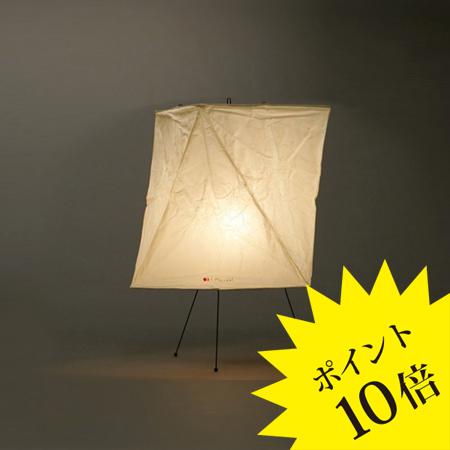 YA2IsamuNoguchi(イサムノグチ)「AKARI あかり」スタンドライト 和紙[テーブル・フロアスタンドライト/和風照明] 【75028】