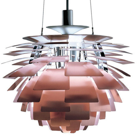 LouisPoulsen(ルイスポールセン)「PHArtichoke(アーティチョーク)」φ840銅(ランプ:LED 98W 3000K)[ペンダントライト/北欧照明/デザイナーズ/輸入]【PH Artichoke 840 Copper LED】