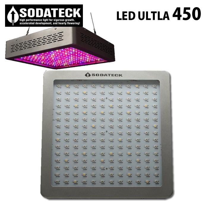 植物育成灯 ソダテック LED ウルトラ 450 Sodateck Ultra ■直送■ 水耕栽培 史上最強 LEDライトシステム 使用LED/80個×5W使用LED/180個×5W
