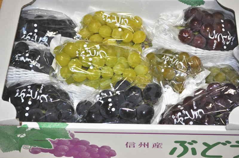 くだもの(フルーツ)>ぶどう>保科さんの豪華葡萄セット