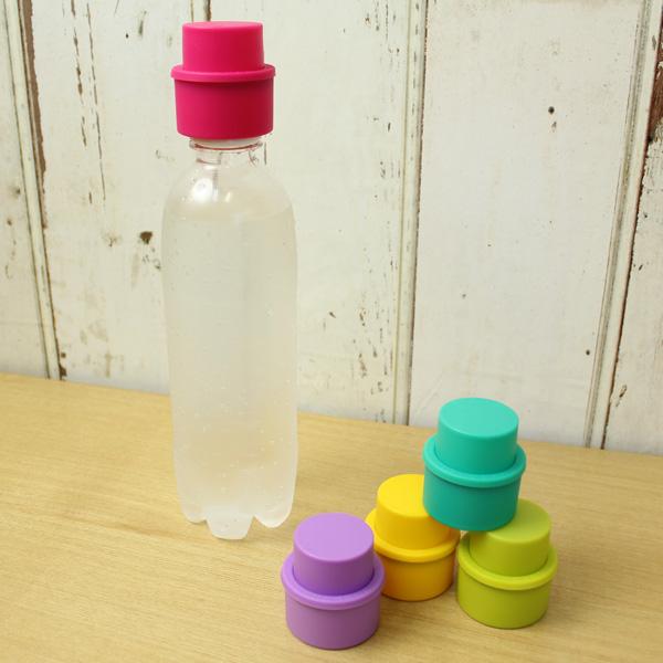 ペットボトル炭酸飲料のおいしさをキープ ソーダキャップ 炭酸キーパー [宅送] 炭酸水 キャップ フタ 炭酸 ペットボトルキャップ ペットボトル 超安い