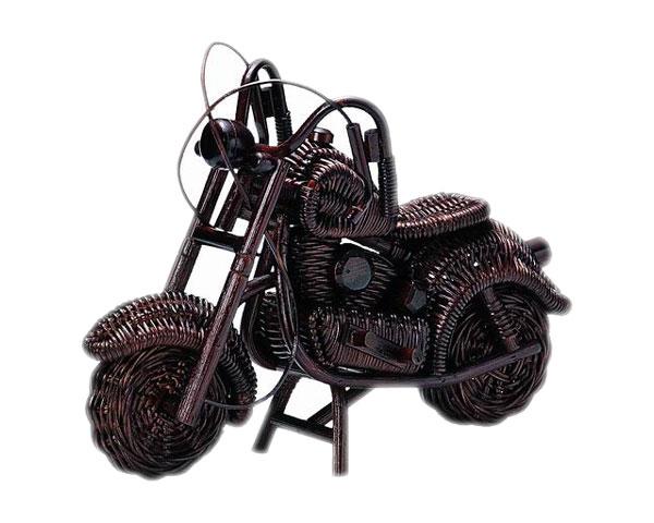 【3,980円以上購入で送料無料】【送料無料】【2個セット】籐のある生活 オブジェ バイク「HW-32」【おもちゃ・ホビー/アート・美術品・民芸品/オブジェ】【収納ボックス】