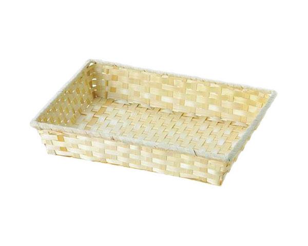 [宅送] バスケット ナチュラル 25-40 NEW ARRIVAL インテリア 収納 かご 小物入れ 籐のある生活 竹製