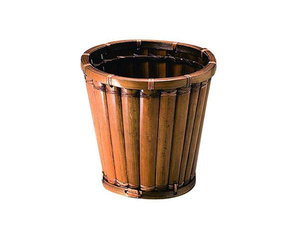 籐のある生活 お気に入 竹製鉢カバー 40-02 花 ガーデン DIY ガーデニング 鉢カバー 4号~6号 アジアン 観葉植物 直径24cm バンブー おしゃれ 竹製 竹 送料無料お手入れ要らず