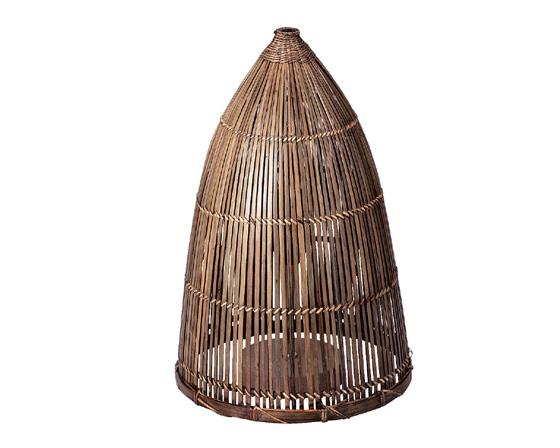 【送料無料】【2個セット】【照明器具】籐のある生活 Bamboo lamp Shade(バンブーランプシェード)「03-34LA」【収納ボックス】