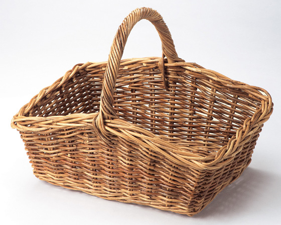 【送料無料】【2個セット】【ラタン収納/カゴ】籐のある生活 Rattan(紅ラタン)バスケット「31-15」【バスケット容器・カゴ籠・rattanbasket】【収納ボックス】