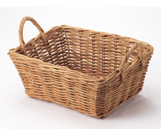 【送料無料】【2個セット】【ラタン収納/カゴ】籐のある生活 Rattan(紅ラタン)バスケット「31-24」【バスケット容器・カゴ籠・rattanbasket】【収納ボックス】