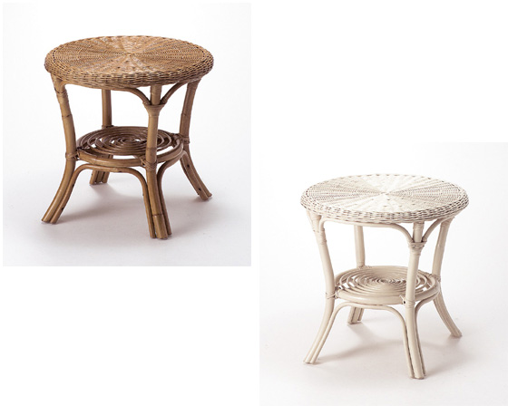 【3,980円以上購入で送料無料】【送料無料】【2個セット】【インテリア】籐のある生活 Table&Chair(テーブル/イス)ラタンチェア「CT-102BR」【インテリアinterior】【収納ボックス】