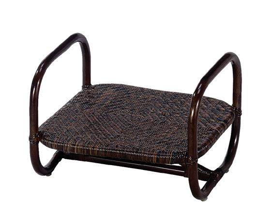 【送料無料】【2個セット】【椅子】籐のある生活 Chair&Stools(イスとスツール)スツール「CS-46」【収納ボックス】